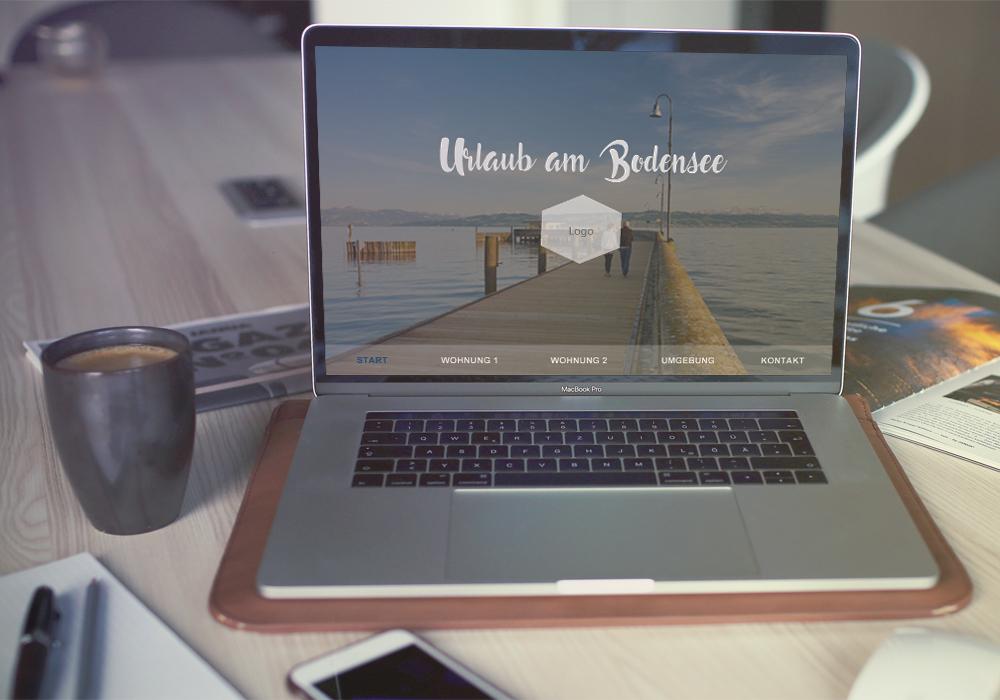Ferienwohnungen-Website