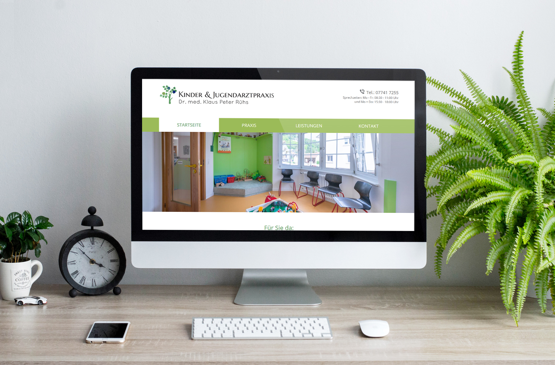 Kinderarzt-Website