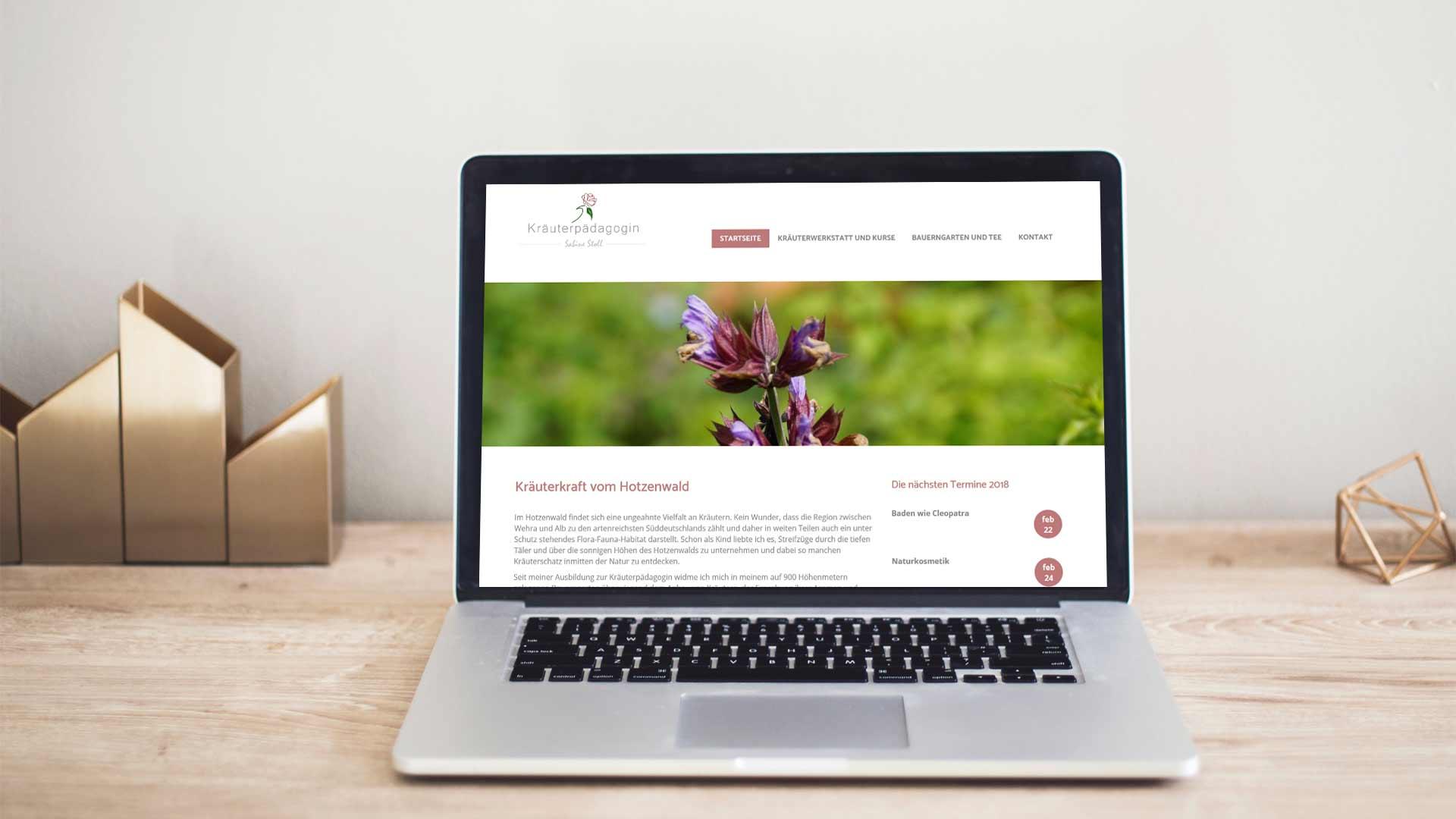 Kraeuter-Website