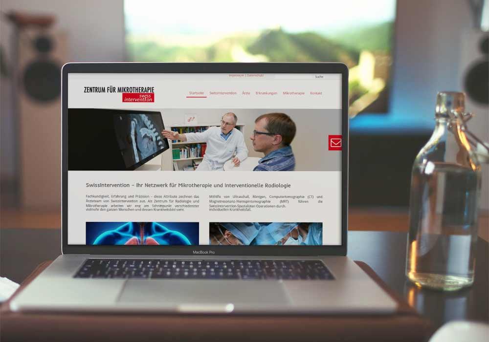 Swissintervention-Website