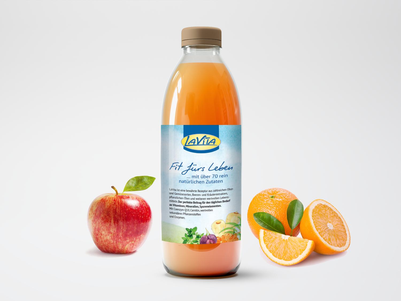 LaVita Nährstoffkonzentrat aus Obst und Gemüse
