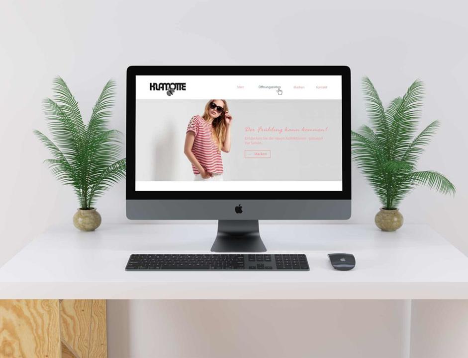 Boutique-Website